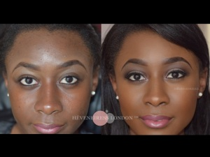 makeup transformations - Best makeup artists in UK - London makeup artist -bridal makeup - black makeup artist s- asian makeup artists - Ghanian weddings