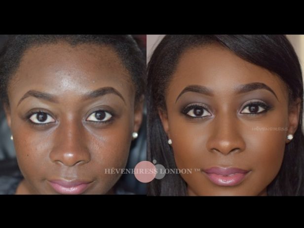 makeup transformations - Best makeup artists in UK - London makeup artist -bridal makeup - black makeup artist s- asian makeup artists - Ghanian weddings