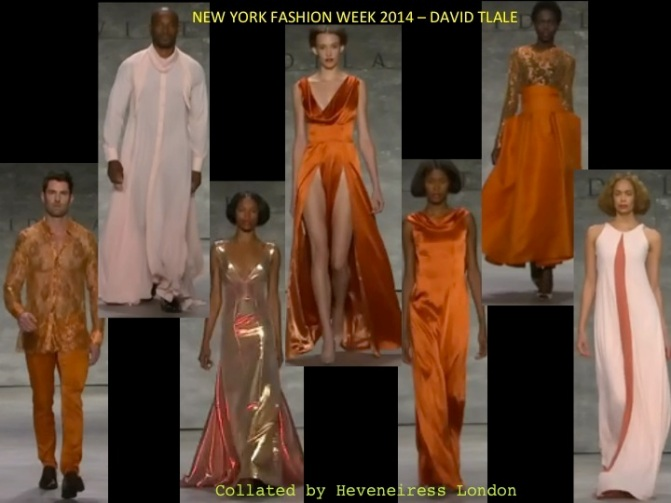 david tlale NYFW 2014-