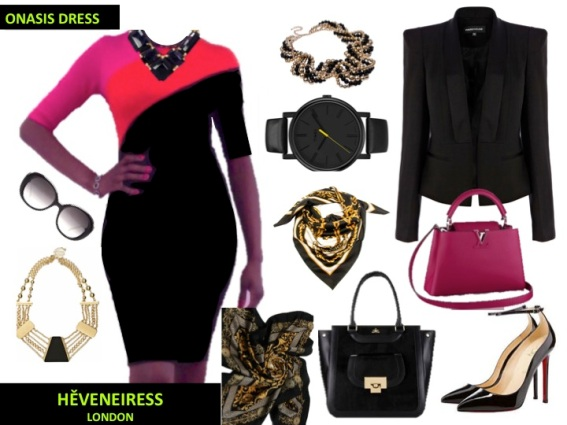 Heveneiress Onasis Dress