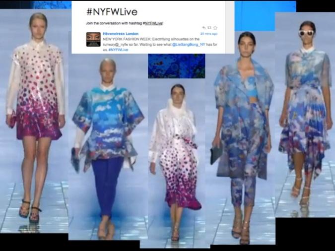 Lie Sangbong -New York Fashion Week-
