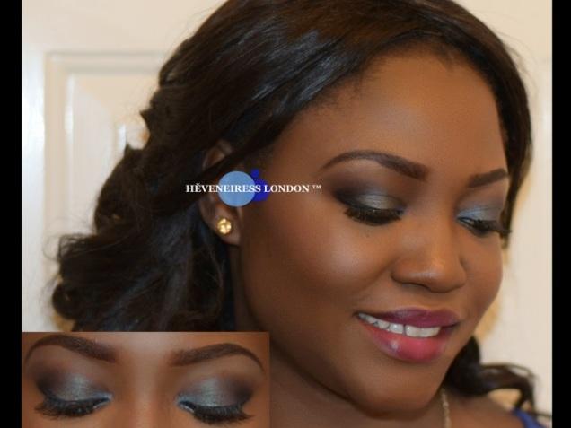 makeup for black skin  - london