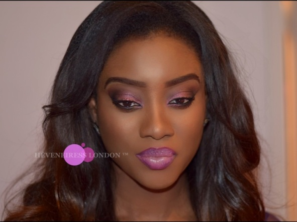makeup for dark skin - occ lip tars - swatches - motives cosmetics uk