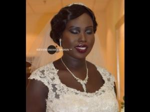 black makeup artists in london - bridal hair dressers in london