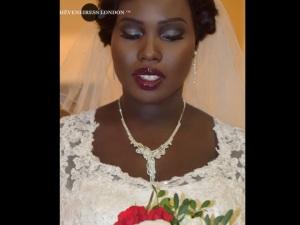 bridal hair lonodn - mua, black makeup artists