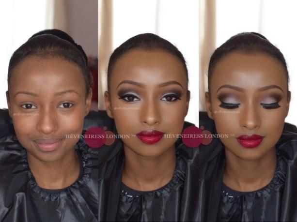 Heveneiress london - black makeup artists in london - motives cosmetics - bridal makeup artists in london, makeup naija