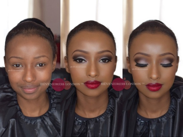 Heveneiress london - black makeup artists in london - motives cosmetics - bridal makeup artists in london, makeup naija
