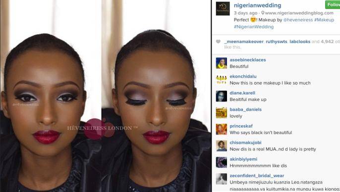 heveneiress London - black makeup artists in UK - Bridal makeup - bridal hair - london makeup artists - birmingham makeup artists - reading makeup artist - top makeup artists in UK - Nigerian makeup artist