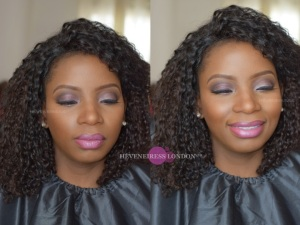 makeup for dark skin - asian and black makeup artists - nigerian weddings - heveneiress