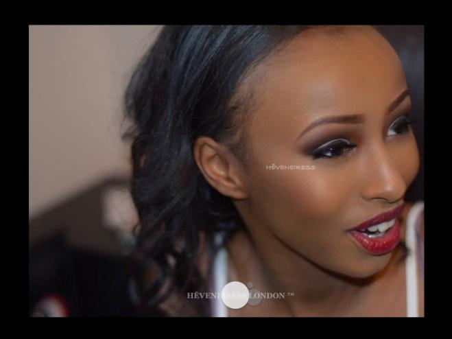 ebony bride, black makeup artists in london, best makeup artists in UK - heveneiress - best makeup artists - bobbi brown foundatoin for dark skin - contouring