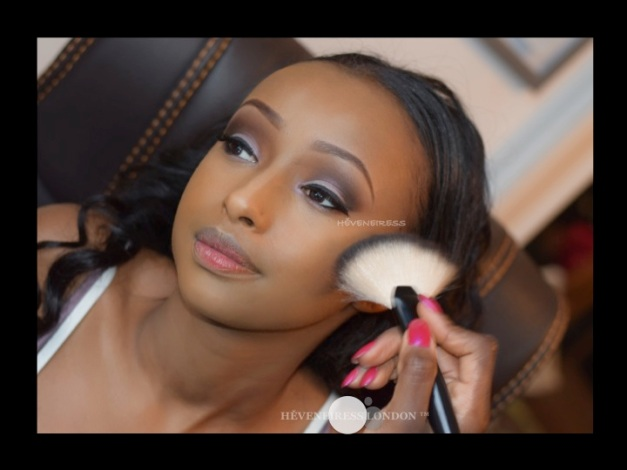 heveneiress london - bridal makeup artists - black makeup artists - asian makeup artists - makeup naija - ben nye powder