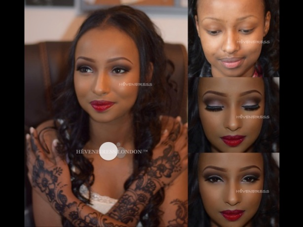 heveneiress london - bridal makeup artists in london -  lagos makeup artists - abuja makeup artists - smokey eyes  - london weddings - best makeup artists in UK