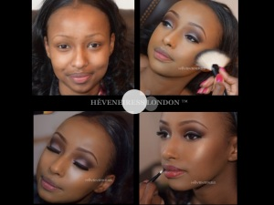 heveneiress london - makeup artists - abuja makeup artists - lagos makeup artists. - weddings