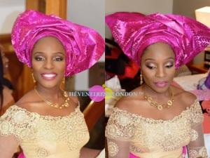 heveneiress london - best makeup artists in london - mac foundation for dark skin - asoebi - gele - nigerian weddings - makeup artists in london - luton