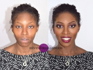 heveneiress - london makeup artists - bella naija - makeup naija -  bridal makeup artists - top UK makeup artists - bridal hair - oxford - cambridge - windsor - essex