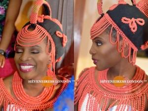 heveneiress london - makeup naija - bella naija Yoruba weddings