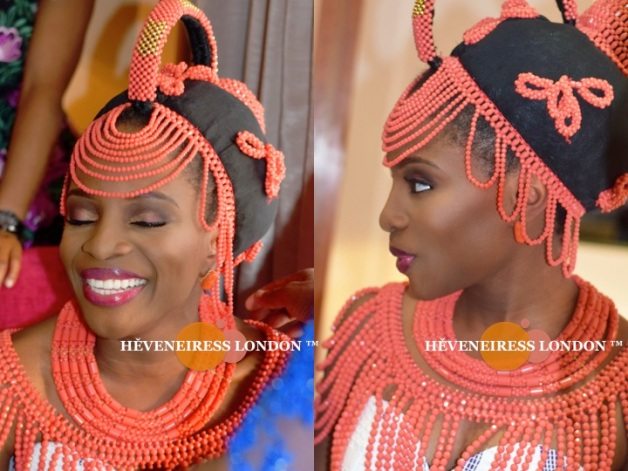 heveneiress london - makeup naija - bella naija Yoruba weddings