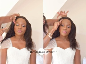 heveneiress - makeup artists in UK - nigerian weddings - weddings - bridal  hair stylist in london - windsor  - reading - surrey - vanity fair