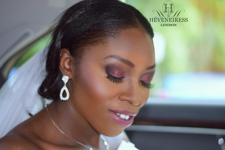 heveneiress – bridal makeup artists in london, abuja – bridal hair