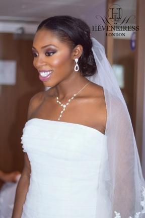 bridal makeup for dark skin H?VENEIRESS LONDON