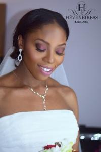 heveneiress london - best bridal makeup artists in london - black bridal makeup artists in london - kent - surrey - oxford - luton - bobbi brown foundation on dark skin - london brides - bella naija - top uk makeup artists - black bride