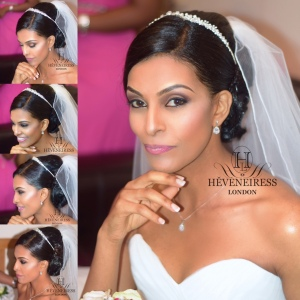 heveneiress london - bridal hair stylist - beautiful brides - makeup artists in london - nigerian makeup artists in london - bella naija - linda ikeji