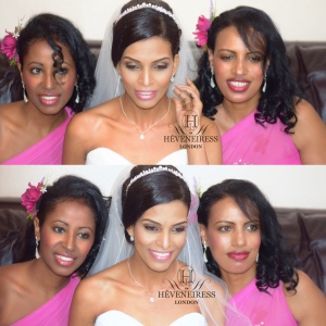heveneiress london - bridal makeup artists in london - oxford - essex - birmingham - best makeup artists in london