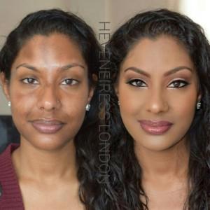heveneiress london - best bridal makeup artists in london - black bridal makeup artists in london - kent - surrey - oxford - luton - asian makeup artists - london brides - mac lip stick on dark skin - top uk makeup artists - best makeovers