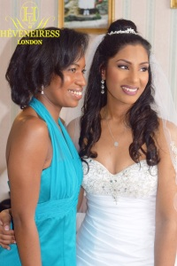 heveneiress london - best bridal makeup artists in london - black bridal makeup artists in london - kent - surrey - oxford - luton - bobbi brown foundation on dark skin - london brides - mac lip stick on dark skin - top uk makeup artists - asian bride