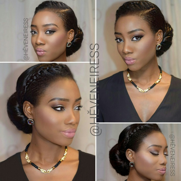 heveneiress london - bridal hair stylist in london - london makeup artists - black makeup artists in london - best makeup artists - bridal makeup