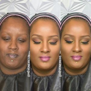 heveneiress london - london makeup artists - bridal makeup artists - black makeup artists in london