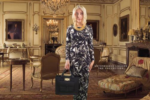 KIKI BAG - Black - Heveneiress london - kim kardashian - handmade leather bags - makeup artists in london - vogue magazine - konga - tatler magazine - fashion week - upcoming designers - top makeup artists in london