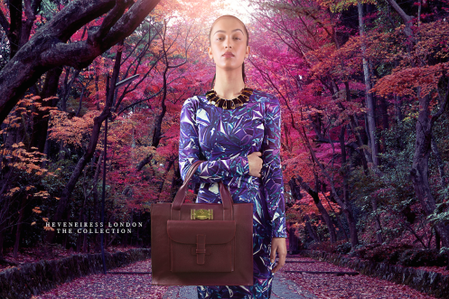 KIKI BAG - Mauve - Heveneiress london - kate middleton -handmade leather bags - makeup artists in london - vogue magazine - konga - tatler magazine - fashion week - upcoming designers - top makeup artists in london