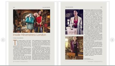 thisday newspaper - vogue - heveneiress London - makeup artist - leather bags - london - upcoming designers in london - handmade leather bags in london - bridal makeup artist -