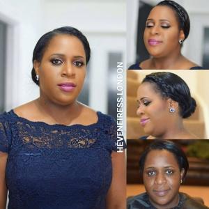 heveneiress london - makeup artist - london top makeup artist - bridal makeup artist - bella naija - vogue magazine - bridal hair stylist - makeup naija - nigerian weddings - wedding makeup - konga