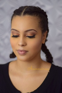 heveneiress - london makeup artists - bella naija - asoebi - makeup on black skin - best makeup artists in london - bridal makeup artists - london - oxford - surrey - kent - nautral makeup for brides - bridal hair stlylist in london - asian makeup