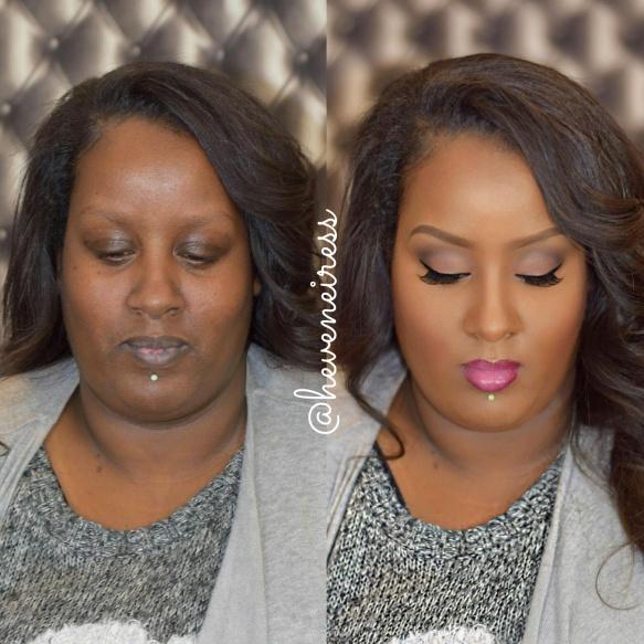 Dark Skin Wedding Makeup : bridal makeup for dark skin H?VENEIRESS LONDON