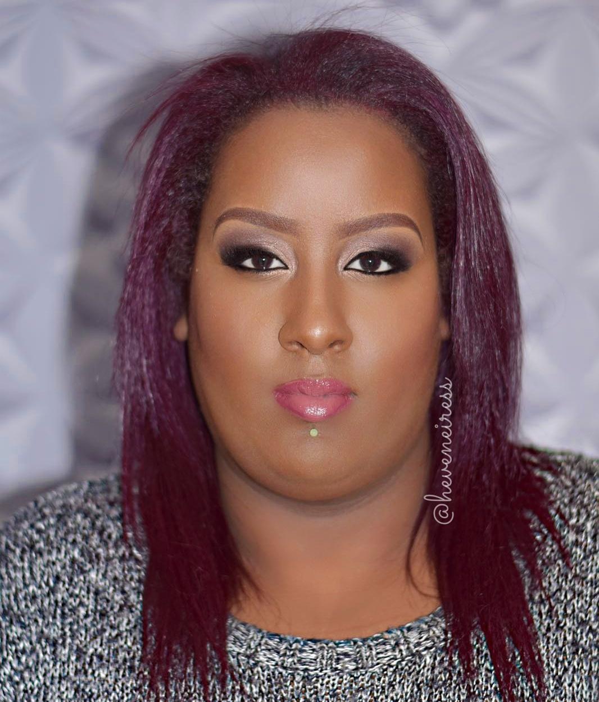 Heveneiress London - makeup artist - bridal makeup - black and asian makeup artists in london