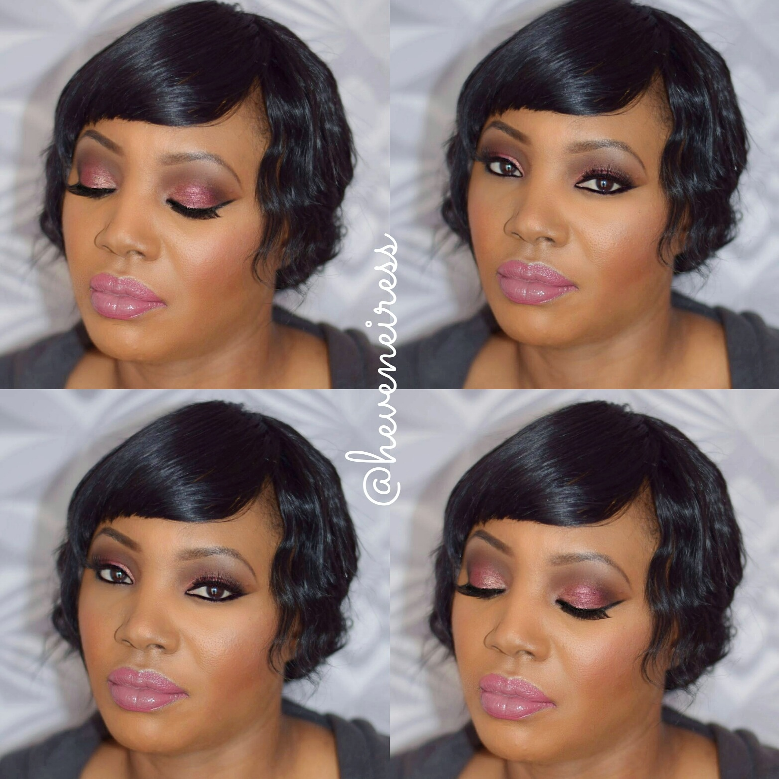 Bridal Makeup For Black Hair : bridal makeup for dark skin H?VENEIRESS LONDON