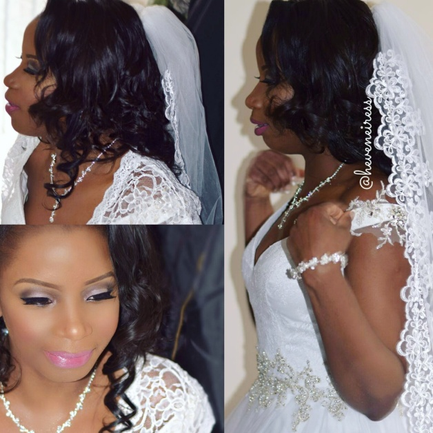 heveneiress london - bridal makeup artists in london - black makeup artists in london - bridal hair stylist in london - best makeup artists - asoebi - black makeup - bridal hair styles - nigerian wedding - carribean bride