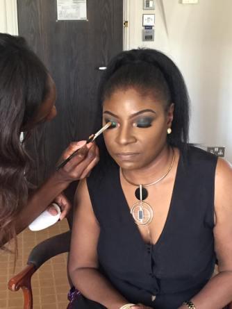heveneiress london - bridal makeup artist - london makeup artists - asoebi makeup - surrey - kent- black makeup artists in london