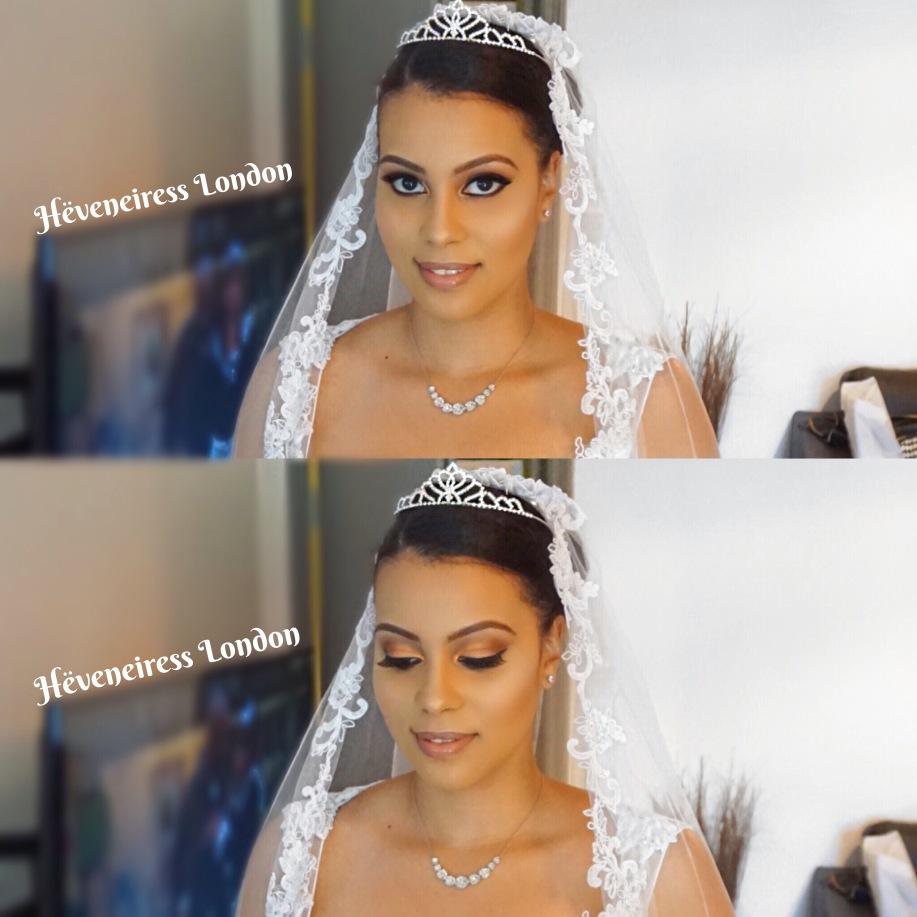 Heveneiress London Makeup Artists Mixed Race Best Bridal