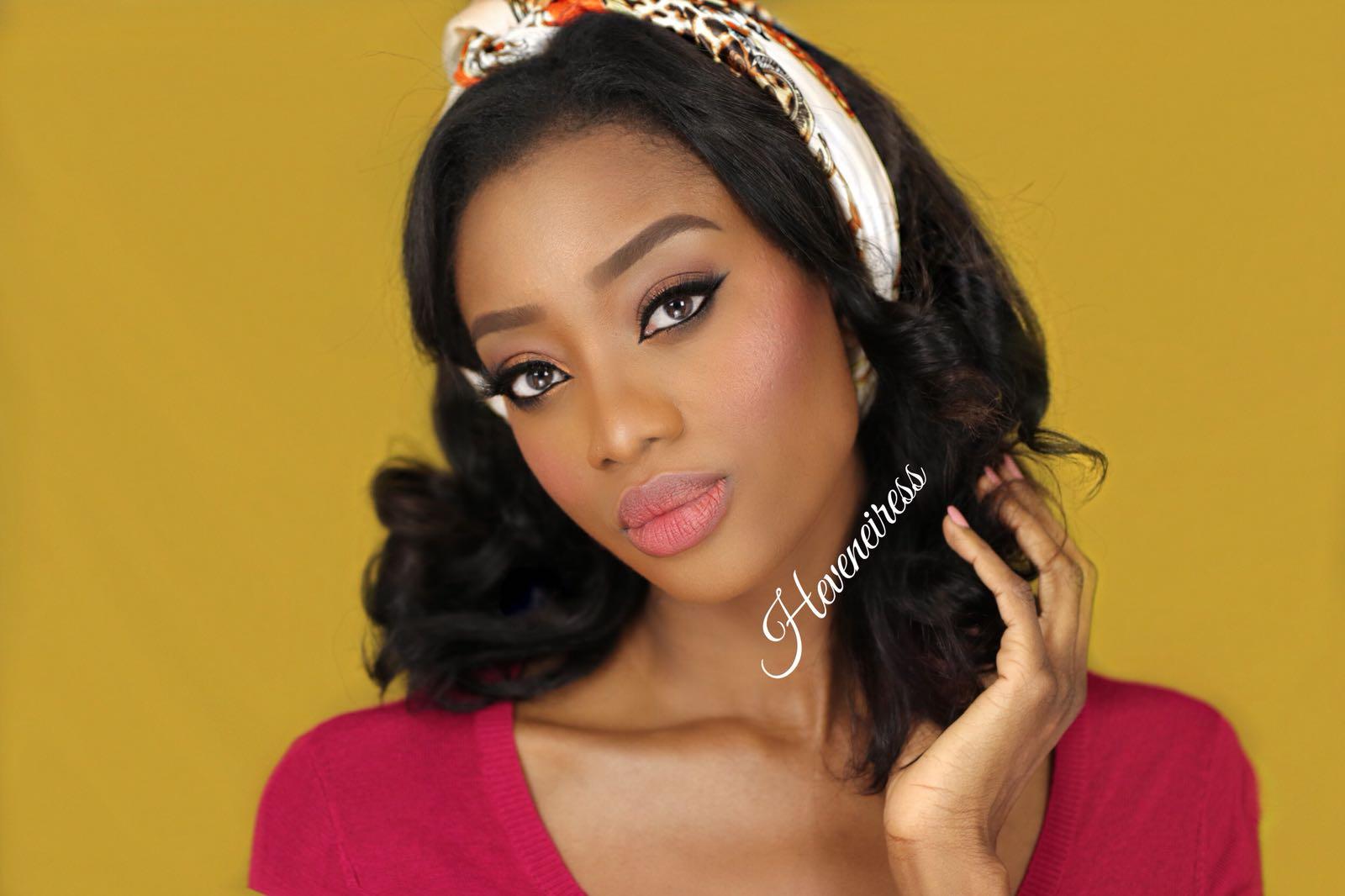 bridal makeup for dark skin   HĚVENEIRESS LONDON